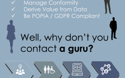 Advert: Well, why don't you contact a guru?
